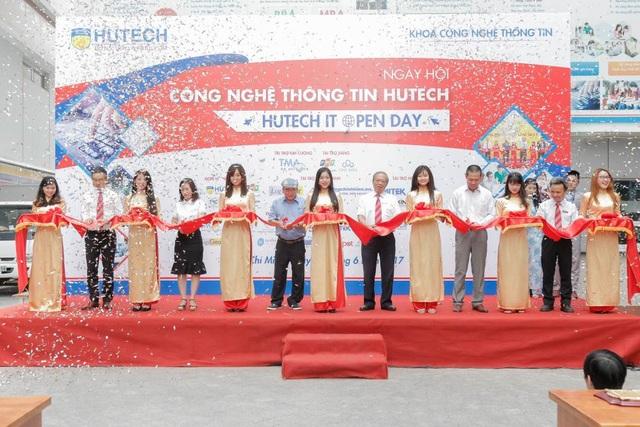 Ngày hội HUTECH IT Open Day có hơn 20 doanh nghiệp Công nghệ thông tin hàng đầu tham gia