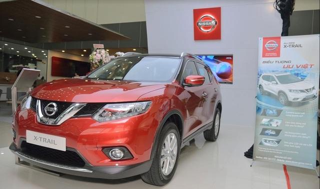 Showroom trưng bày các mẫu xe Nissan Đại lý Nissan Gò Vấp