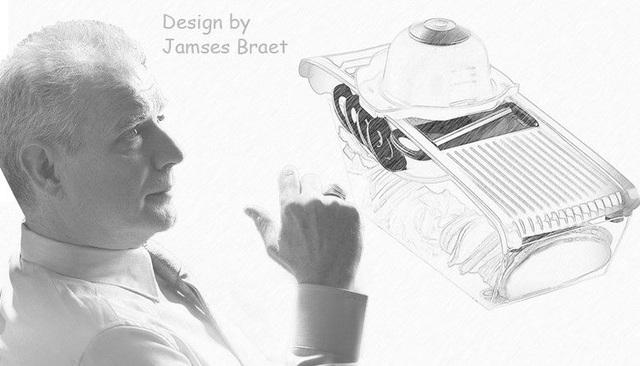 Chân dung James Braet và sáng chế của ông