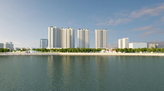 Dự án có tầm nhìn x4 Gelexia Riverside 885 Tam Trinh