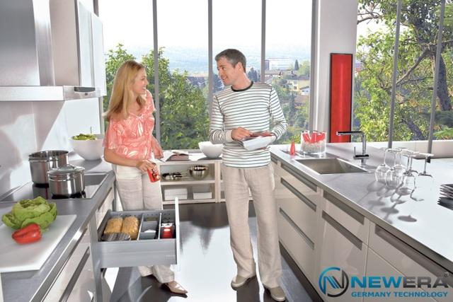 Hệ thống sản phẩm thiết bị nhà bếp NewEra đạt tiêu chuẩn chất lượng và an toàn dành cho thị trường EU như CE(LVD/EMC), GS, SAA, CB, RoHS.