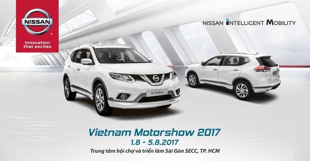 Diện mạo hoàn toàn mới của Nissan tại Vietnam Motor Show 2017 - 2