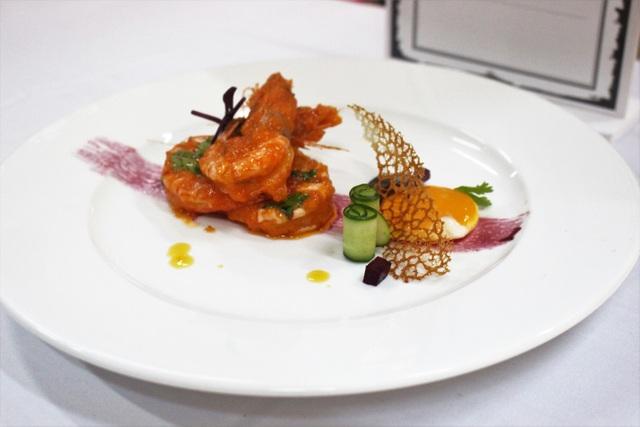 Món ăn dự thi vòng Chung kết của Fine Dinning