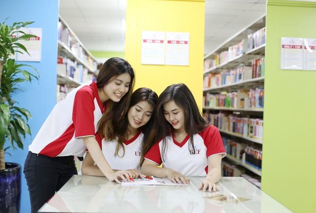 UEF là một trong những trường đại học áp dụng phương thức xét tuyển học bạ lớp 12