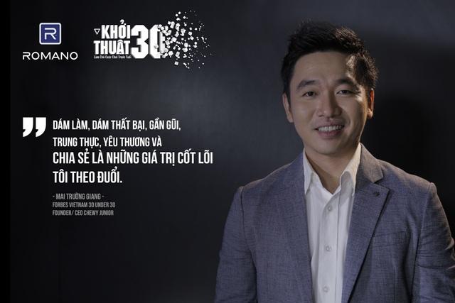 """Được vinh danh ở """"Forbes 30 Under 30"""" mới là sự khởi đầu? - 2"""