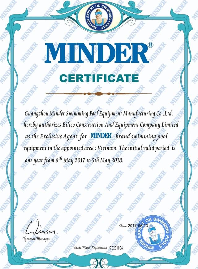 Bilico là đơn vị phân phối độc quyền của Minder tại Việt Nam
