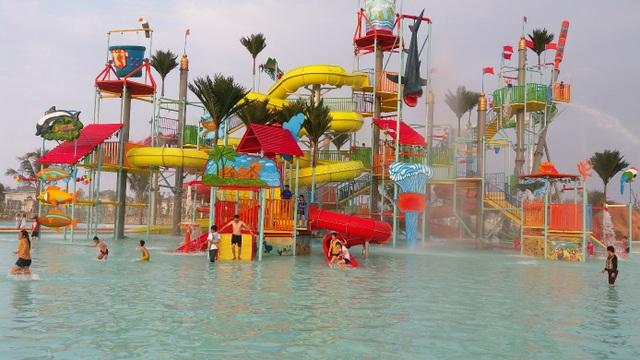 Công viên nước tại Hà Tĩnh được HVC thi công