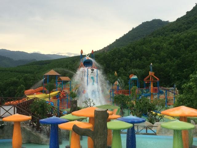 HVC hoàn thiện công viên suối khoáng nóng núi Thần Tài, TP Đà Nẵng