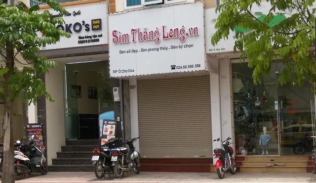 Cửa hàng phục vụ khách hàng qua giao dịch trực tiếp của công ty tại Hà Nội
