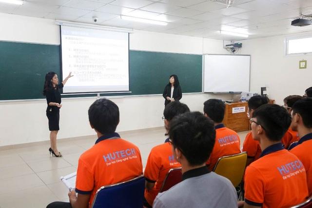 VJIT hiện đào tạo 18 ngành nghề theo đặt hàng của các doanh nghiệp Nhật Bản tại Việt Nam và Nhật Bản