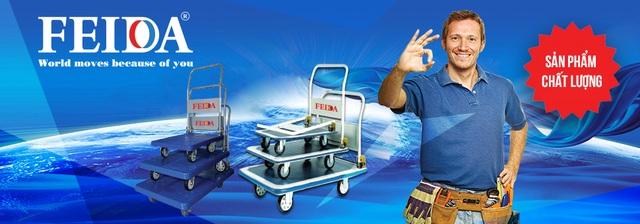Xe đẩy hàng Feida chính hãng giải pháp tiết kiệm hiệu quả cho doanh nghiệp