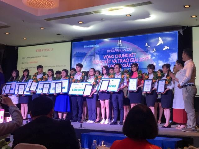 Giải thưởng Tài năng Lương Văn Can 2017 là sân chơi hàng đầu dành cho sinh viên đam mê khởi nghiệp