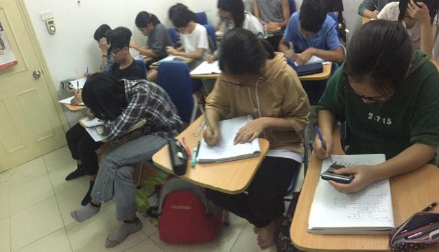Một vài lớp học Thầy Thế Anh
