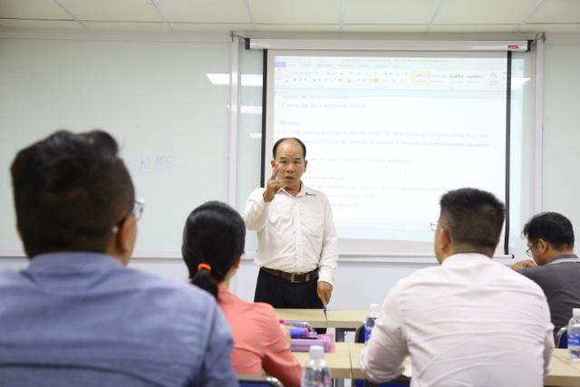 Học viên MBA được tương tác với với đội ngũ giảng viên kinh nghiệm và chuyên gia đầu ngành