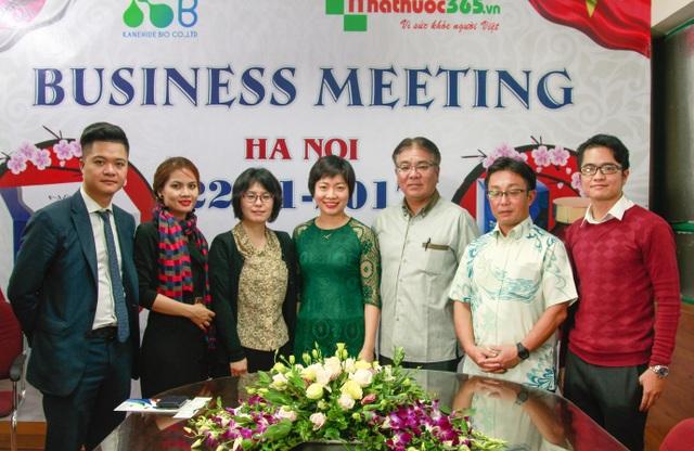 Lãnh đạo tập đoàn Kanehide Nhật Bản sang thăm và làm việc tại Nhathuoc365.vn - 3
