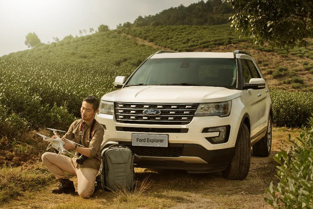 """Trải nghiệm phong cách sống đúng """"chất"""" Ford Explorer - 1"""