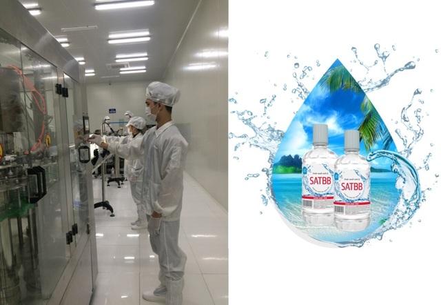 Nước muối sinh lý SATBB Công ty Cổ phần Quốc tế Đại Lợi