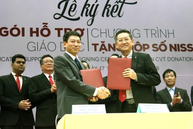 Nissan Việt Nam khởi động Chương trình Hỗ trợ giáo dục cho cơ sở đào tạo chuyên ngành ô tô - 4