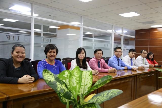 Học viên chương trình thạc sỹ UEF là những nhà quản lý chuyên nghiệp