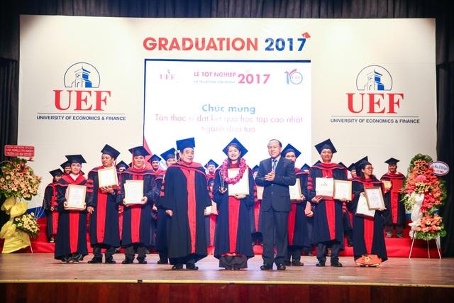 Các tân thạc sĩ của UEF được vinh danh trong ngày Lễ tốt nghiệp