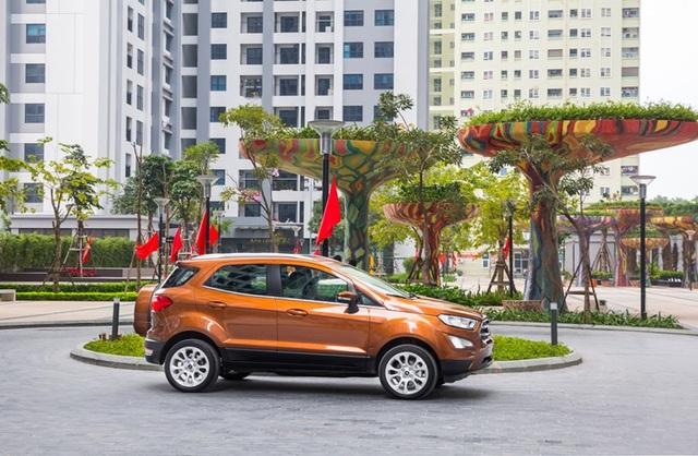Ford EcoSport 2018 hiệu năng vượt trội - 1