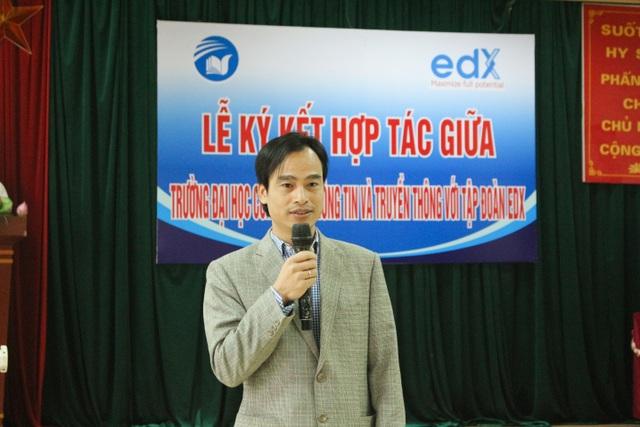 Ông Nguyễn Đình Hùng – Chủ tịch tập đoàn EDX giới thiệu về Tập đoàn.