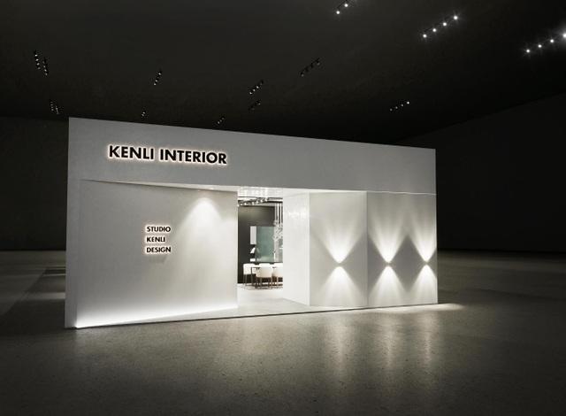 Hình ảnh gian hàng Kenli rộng tới 189m2 tại hội chợ Vietbuild 2018