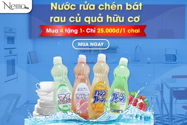 Bộ đôi nước giặt Hàn Quốc và nước rửa bát Nhật Bản giúp việc nhà trở nên dễ dàng - 2