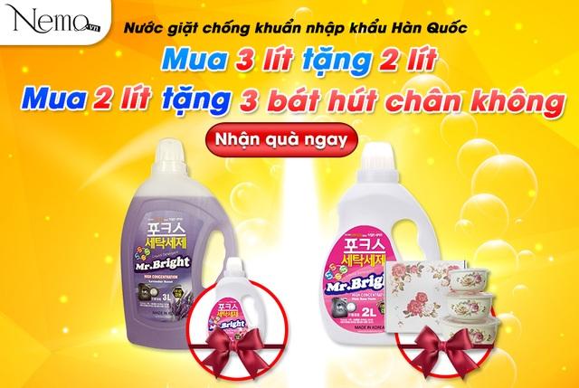 Bộ đôi nước giặt Hàn Quốc và nước rửa bát Nhật Bản giúp việc nhà trở nên dễ dàng - 3