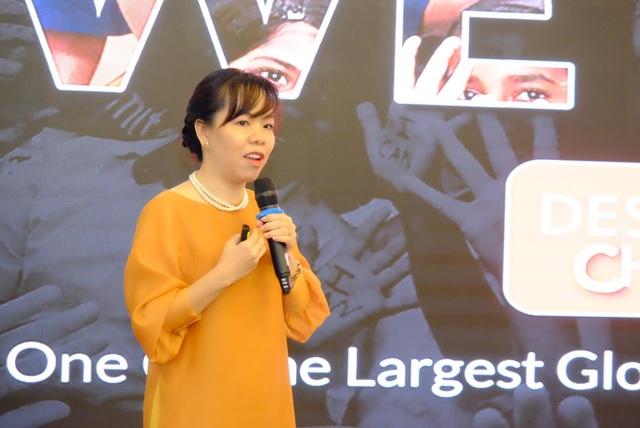 Cô Nguyễn Thuý Uyên Phương cho rằng tin tưởng và trao quyền cho con là vô cùng quan trọng cho sự phát triển của trẻ em
