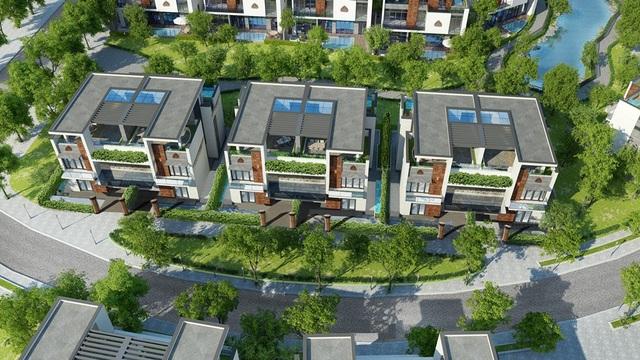 Ảnh hưởng kiến trúc Chăm Pa trong việc xây các biệt thự song lập có mặt bằng hình vuông