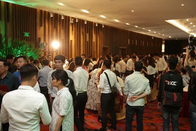 Lễ giới thiệu Eco Charm Premier Island chật ních nhà đầu tư quan tâm.