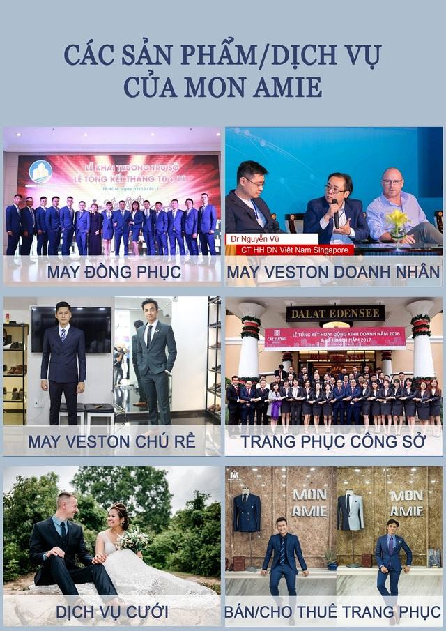 MON AMIE - Thương hiệu Veston hàng đầu TP.HCM khai trương chi nhánh 4 - Mon Amie Sai Gon Pearl - 5