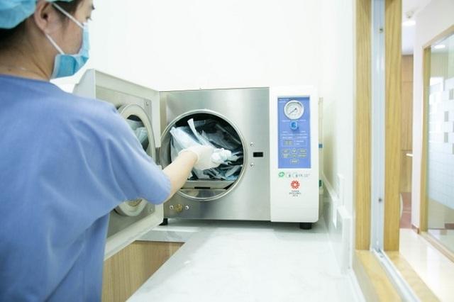 Yếu tố vô trùng được đặt lên hàng đầu tại Nha Khoa KIM