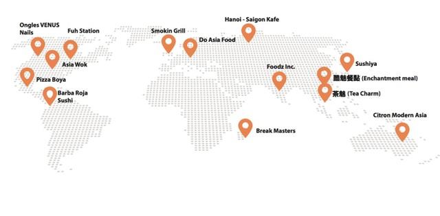Một số cửa hàng nước ngoài đã sử dụng POSapp.vn