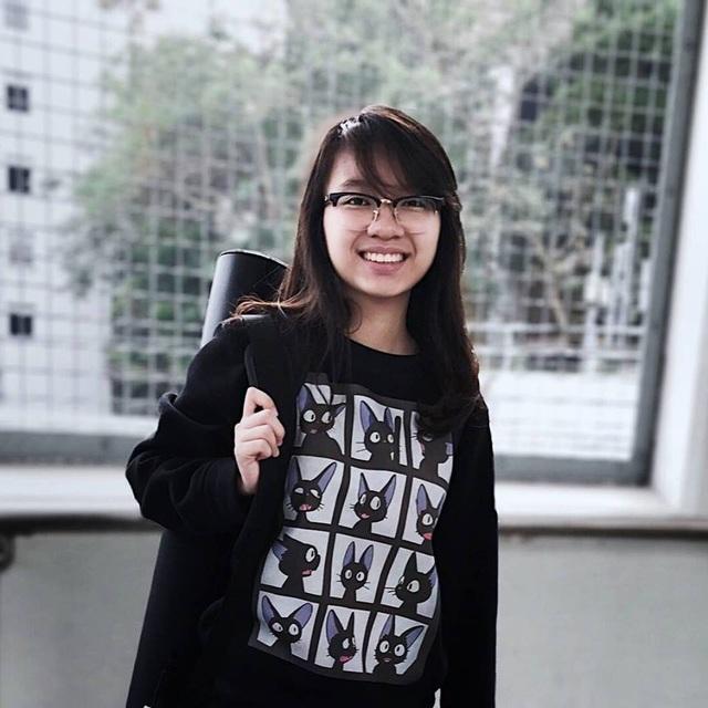 Em Lê Tuyết Quỳnh Anh – tân sinh viên K17