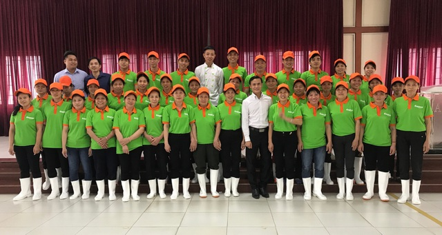 Đội ngũ chuyên nghiệp của Haseca.