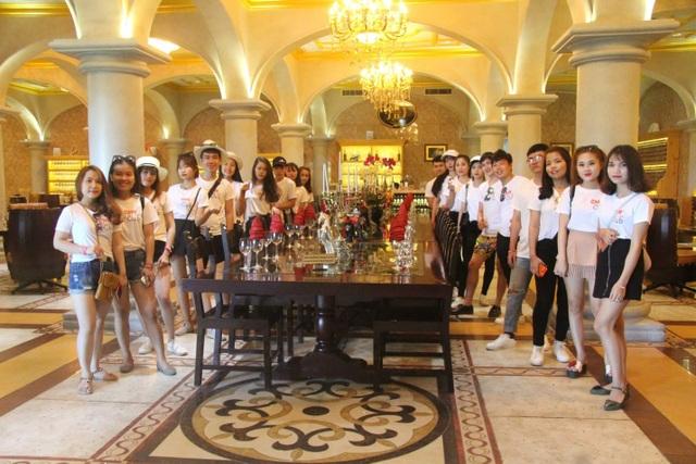 Sinh viên khối ngành du lịch – nhà hàng – khách sạn tại Cao đẳng Miền Nam