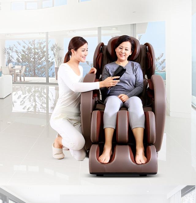 Ghế massage cao cấp Fujikashi F-1 là lựa chọn tuyệt vời cho mỗi gia đình.