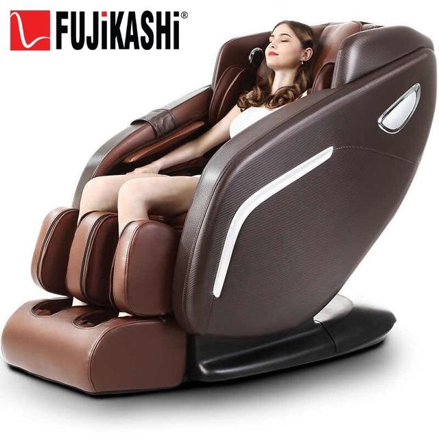 Cùng tận hưởng giây phút massage thư giãn tại nhà với ghế massage Fujikashi F-88.
