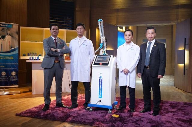 Thương vụ khép lại thành công khi startup nhận lời mời đầu tư của Shark Hưng và Shark Việt