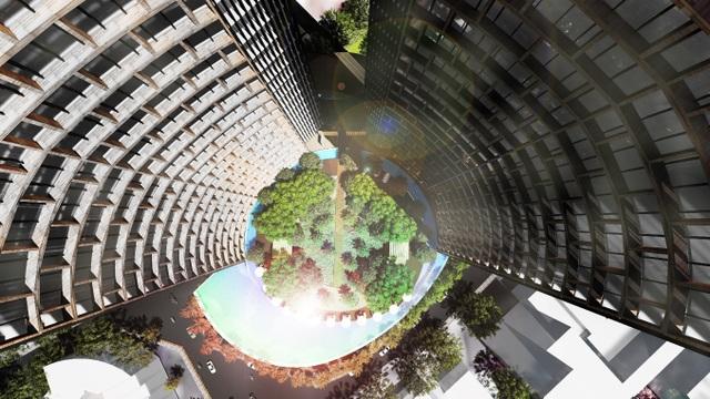 Toà tháp đôi của Alpha Hill hứa hẹn sẽ trở thành biểu tượng mới cho Sài Gòn
