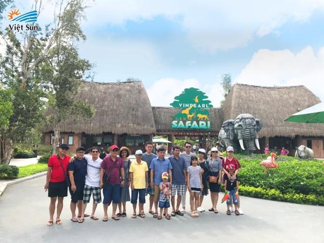 Vinpearl Safari – nơi du khách đến gần hơn với thế giới hoang dã