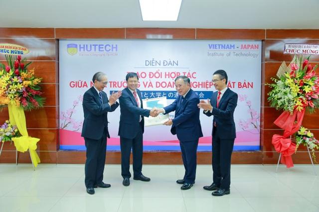 """Nhiều dự án đào tạo """"Internship"""" sẽ được HUTECH và doanh nghiệp Nhật Bản cam kết đẩy mạnh"""