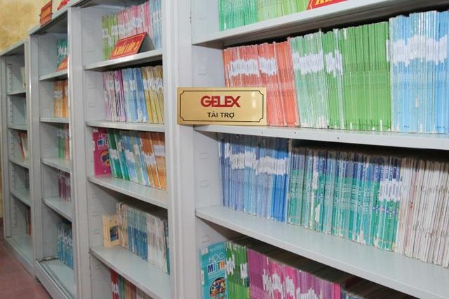 Gelex trao tặng thư viện sách cho trường tiểu học Thanh Hải, Hà Nam - 1