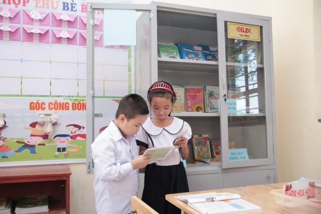Gelex trao tặng thư viện sách cho trường tiểu học Thanh Hải, Hà Nam - 3