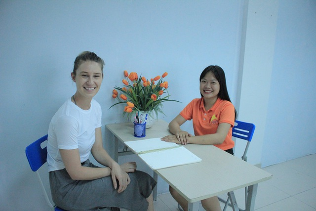 Kiểm tra giữa kỳ cùng giáo viên nước ngoài