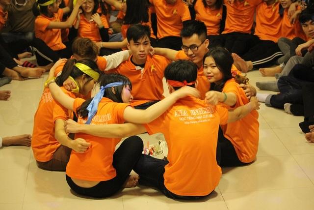 Chương trình Khơi dậy Khát vọng sống của các học viên AHA