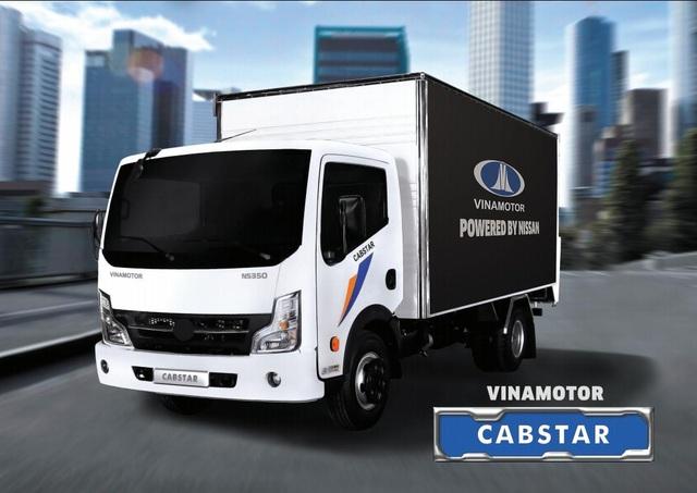 Xe tải nhẹ Vinamotor Cabstar