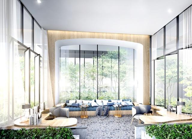 Bất động sản Thái Lan có mức giá dễ chịu so với mặt bằng khu vực. Ảnh: Một dự án tại trung tâm Bangkok có mức thanh toán từ 1,5 tỷ đồng